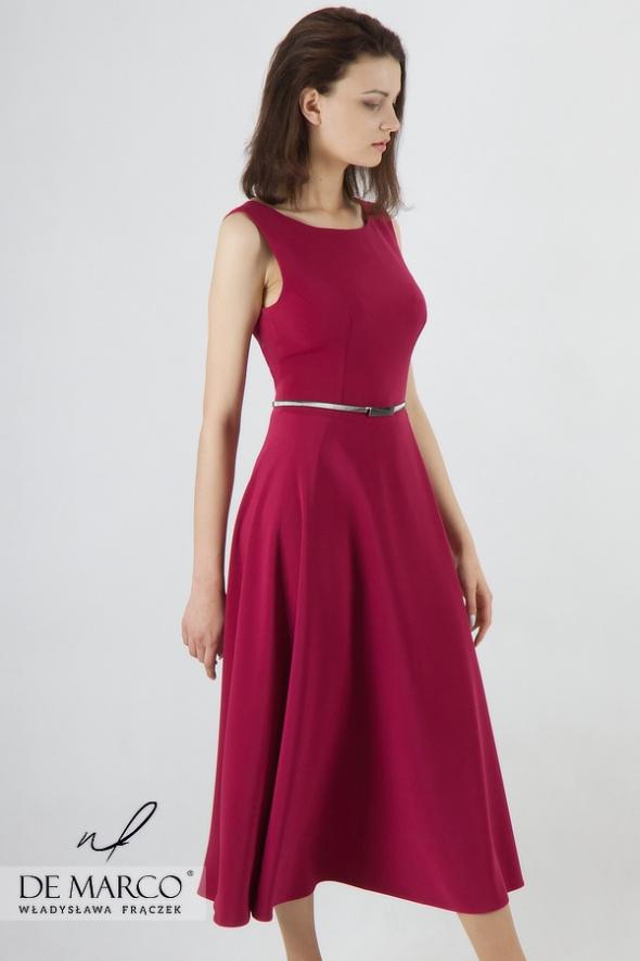 Piękna sukienka wieczorowa na wesele lub inne uroczystości rodz...