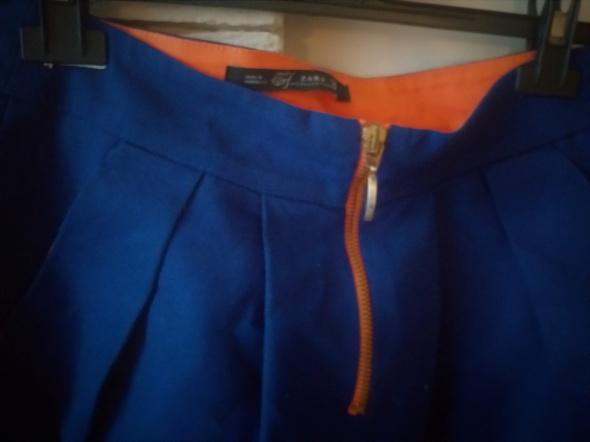 kobaltowa spódnica mini Zara S