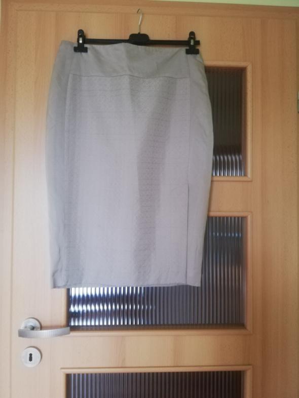 Spódnice szara olowkowa spodniczka