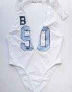 Strój Kostium Kąpielowy Biały NOWY M 38 Majestic Baseball...