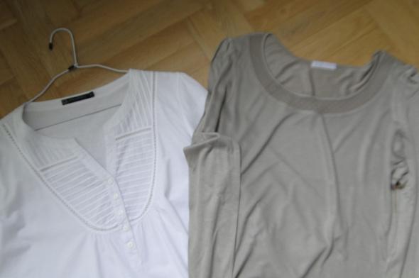 W zestawie taniej 2 bluzki 1 nowa R 40 do 42...