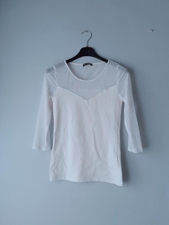 Biała bluzka terranova xs...