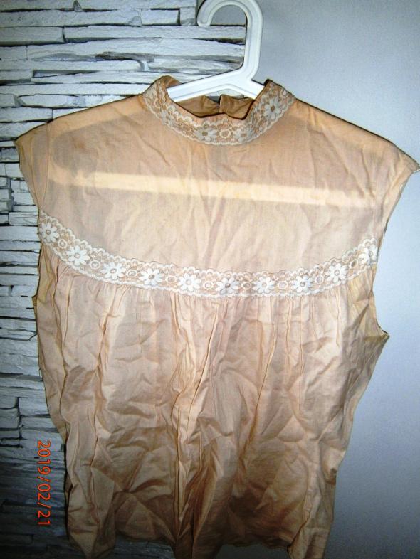 Bluzki bluzeczka Cherokee nude