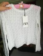 Zara elastyczny cienki sweterek