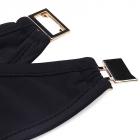 NOWY Czarny kostium dwuczęściowy 36 38