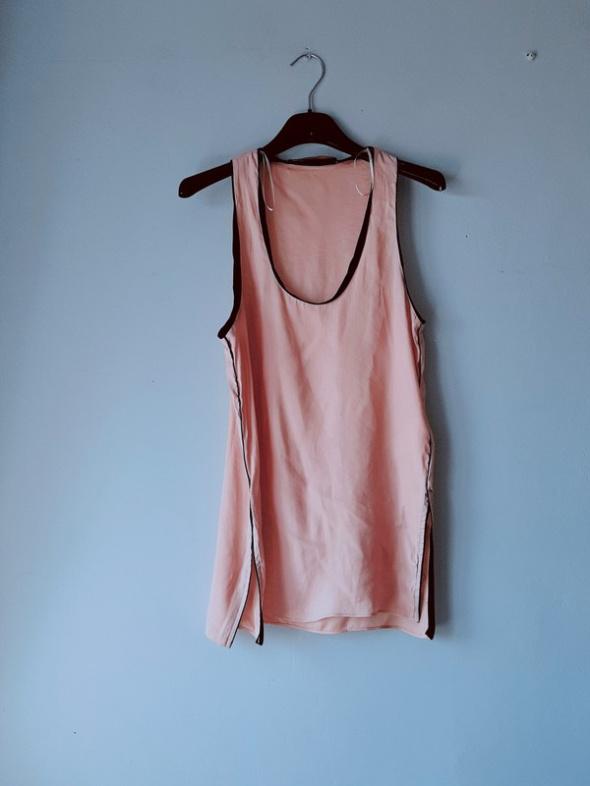Idealna beżowa koszulka Zara xs...