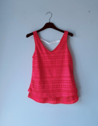 Idealna różowa koszulka bershka XS