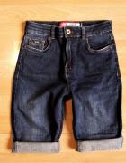 SUPERDRY Sophia Skinny spodenki jeans stretch W26...
