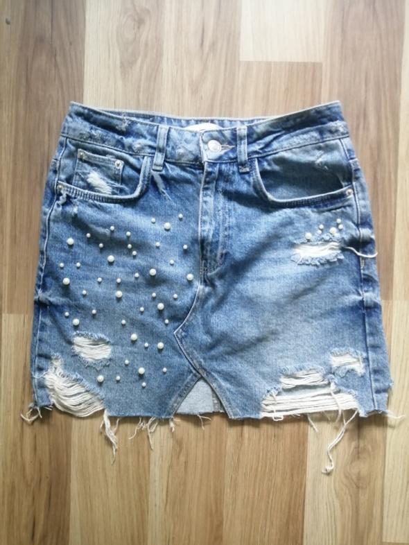 Spódnica jeansowa roz 34