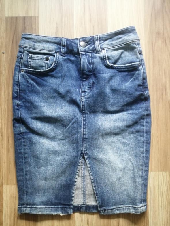 Spódnica ołówkowa jeans