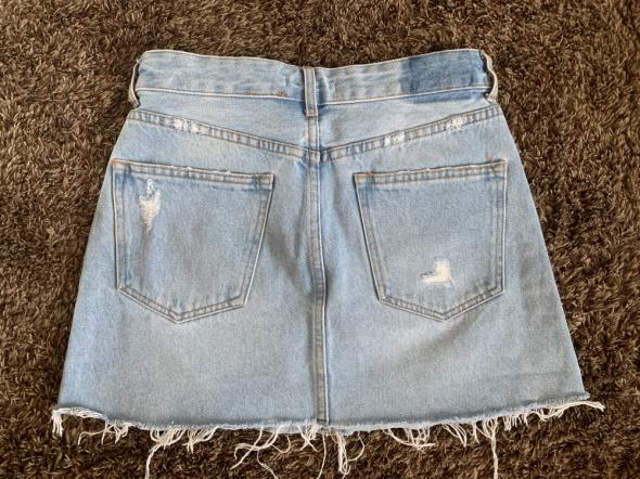 Spódnica jeansowa Bershka 34