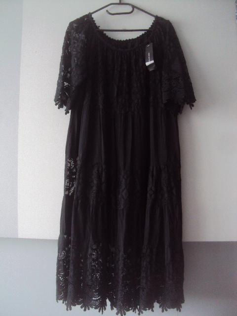 nowa włoska koronkowa sukienka