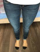 Spodnie ciążowe H&M skinny 36