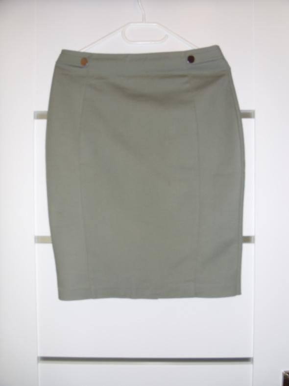 Oliwkowa elegancka spódnica...