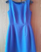Niebieska sukienka bombka...