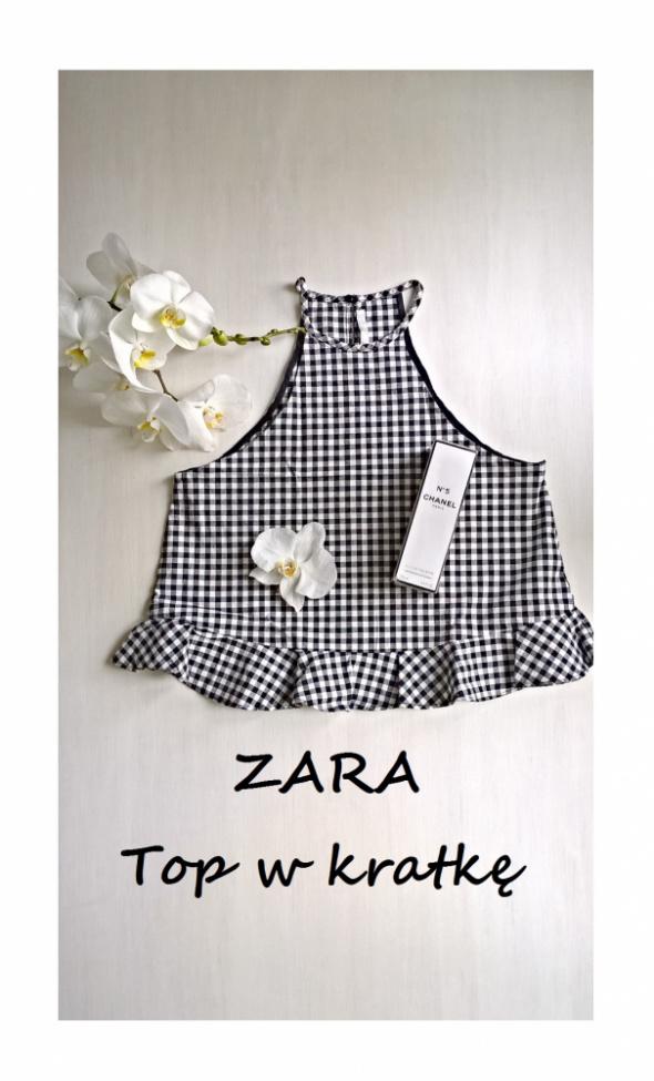 Bluzeczka crop top Zara XS S...