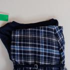 3 elementy piżama CUBUS xs 34 bawełna komplet zestaw opaska