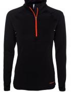 czarna bluzka STROMBERG xs 34 Norwegia zamek sport bluza top...