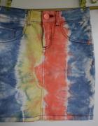 spódniczka New Yorker xs 34 jeansowa dżinsowa jeans kolorowa...