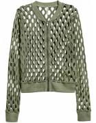 SWETER BLUZKA KURTKA LATO H&M XS 34 CARDIGAN khaki TOP...