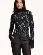 Bluzka bluza stójka H&M xs 34 sport koszulka birganie góry rower