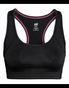 Czarny top sportowy H&M xs 34 sport fitness bieganie trening...