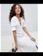 Sukienka lniana Zara Asos...