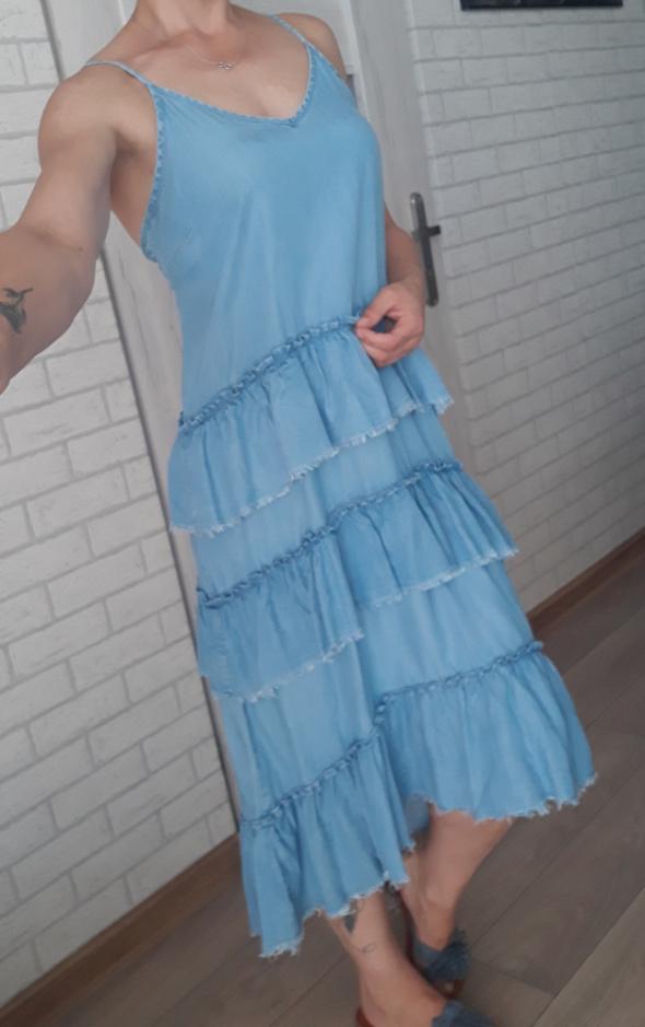 Only sukienka falbanki