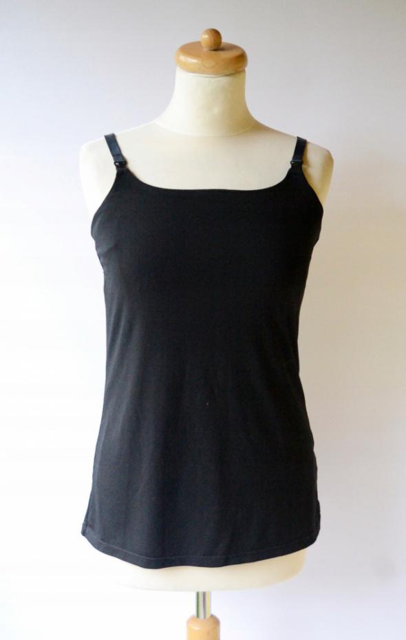 Bluzka Czarna H&M Mama M 38 Karmienia Koszulka...