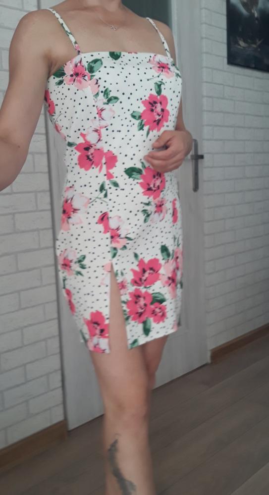 Boohoo night sukienka flowers