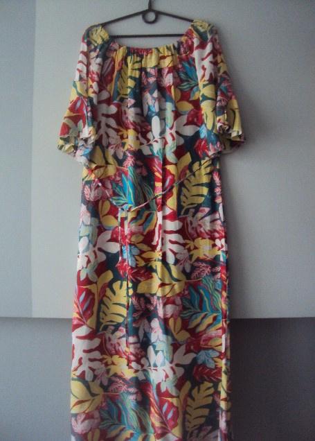 sukienka hiszpanka maxi...