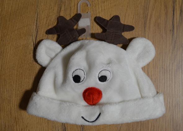 Czapki dziecięca czapeczka świąteczna 3 do 6 M