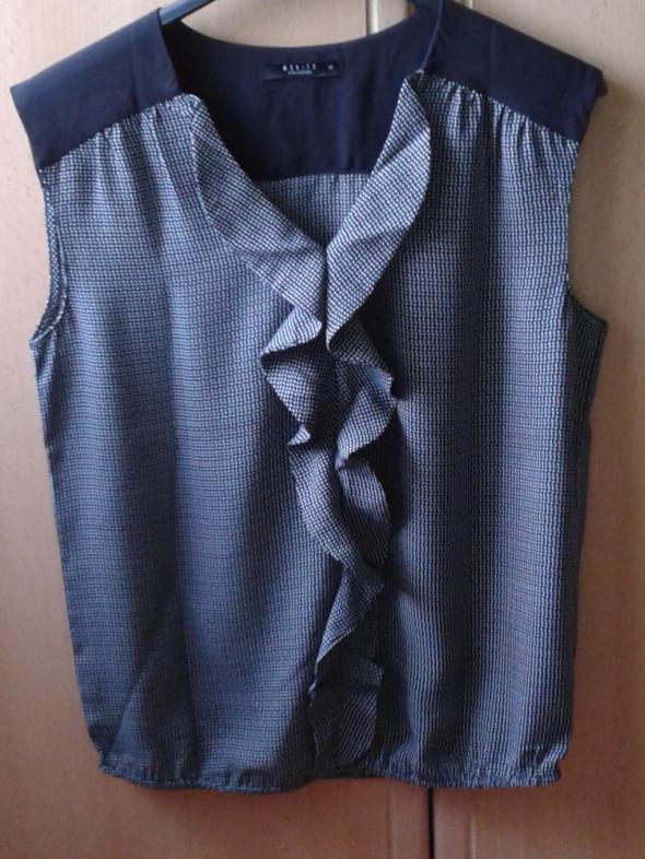 bluzka Mohito żabot falbanka 34 xs...