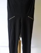 Spodnie Legginsy Czarne Suwaki H&M Mama S 36 Przeszycia Rurki...