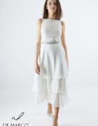 Koktajlowa sukienka na lato od projektantki mody De Marco...