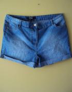 jeansowe szorty...