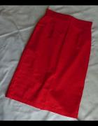 Spódnica bawełna rozmiar 36 czerwona...