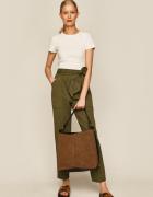 Zamszowy Shopper Bag