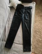Spodnie skórzane r 34 36 XS S...
