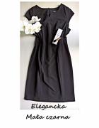 Elegancka mała czarna sukienka 42 44 klasyka must have...