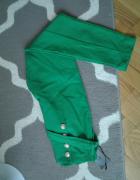 Zielone nowe spodnie...