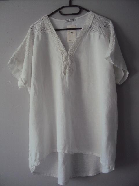 nowa lniana bluzeczka...