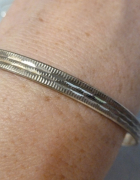 kółko srebrne Warmet Biamet...