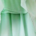 NOWA miętowa asymetryczna spódnica zielona pistacjowa pastel
