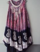 trapezowa letnia sukienka...
