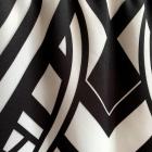 Czarno biała obcisła spódniczka M L