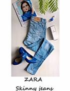 Jeansy Zara Skinny XS S rurki...