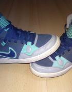 Nike niebiesko miętowe 38...