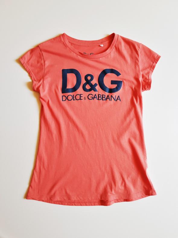 DOLCE&GABBANA Bluzka koszulka bawełniana Lka