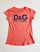DOLCE&GABBANA Bluzka koszulka bawełniana Lka...